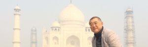 Oya in Taj Mahal2