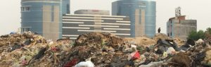 Waste in City